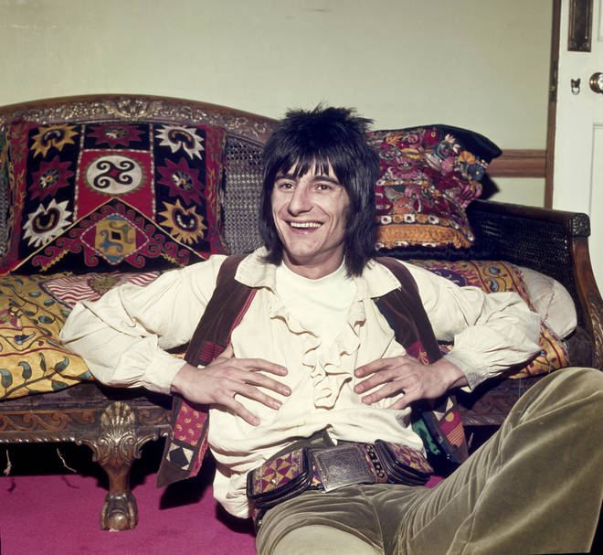 Ronnie Wood has been a member of The Rolling Stones for nearly fifty years. (Photo by George Wilkes/Hulton Archive/Getty Images)