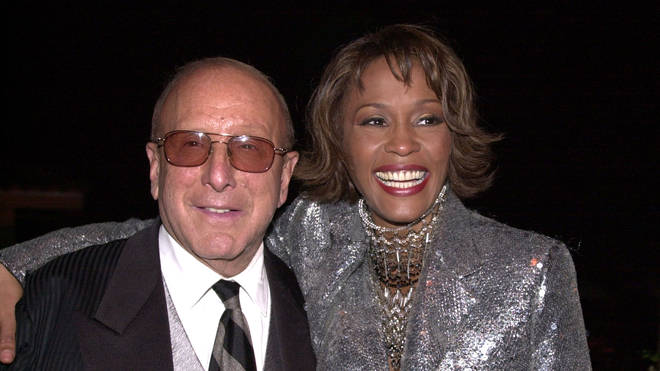 Whitney Houston and Clive Davis - artists mentored by Clive Davis
