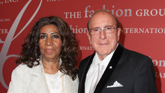 Aretha Franklin and close friend Clive Davis - artists mentored by Clive Davis