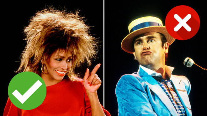 Who sang it? See if you can remember the correct singer of these hit songs