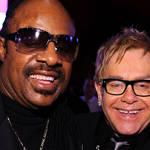 Elton John and Stevie Wonder team up for spectacular new collaboration 'Finish Line'