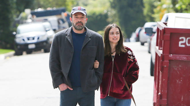 Ana and Ben Affleck in early 2020