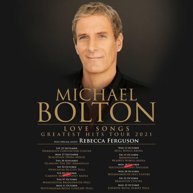Michael Bolton tour