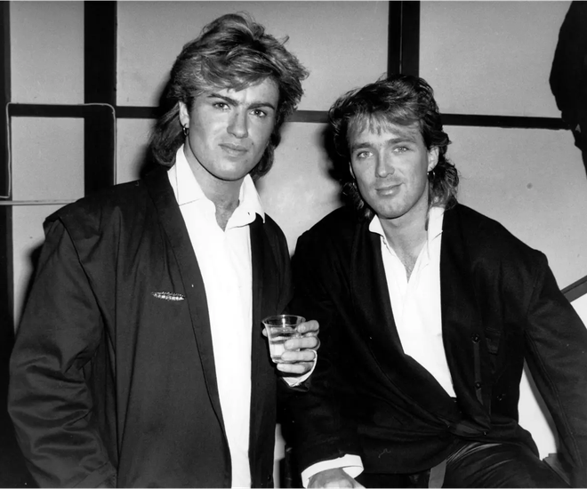 George was great friends with Shirlie's husband, Martin Kemp and even introduced them.