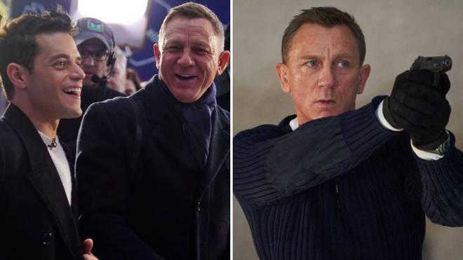 Rami Malek thinks Daniel Craig's is an Oscar contender for final turn at James Bond.