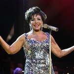 Dame Shirley Bassey performing at the BBC Electric Proms in 2009. (Photo by Gareth Cattermole/Getty Images)