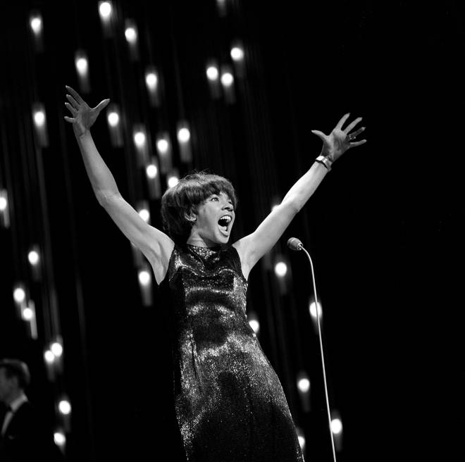 Shirley Bassey performing in 1965. (Photo by Monitor Picture Library/Photoshot/Getty Images)