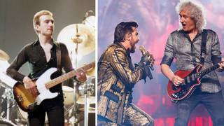 John Deacon and Queen