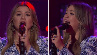 Watch Kelly Clarkson's mesmerizing cover of Whitney Houston's 'Saving All My Love For You'