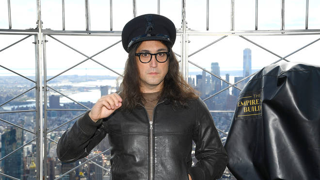 Sean Ono Lennon At Empire State Building Lighting Ceremony In Honor Of Father John Lennon's 80th Birthday on October 08, 2020 in New York City. (Photo by Dimitrios Kambouris/Getty Images for UMe)