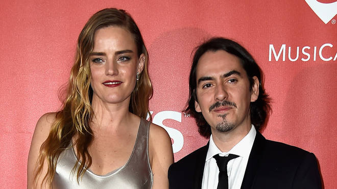 Sola Harrison (L) and musician Dhani Harrison attend the 25th anniversary MusiCares 2015 Person Of The Year Gala honoring Bob Dylan. (Photo by Frazer Harrison/Getty Images)
