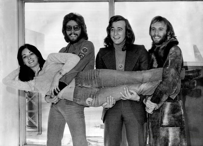 The Bee Gees brother hold Barry's wife Linda