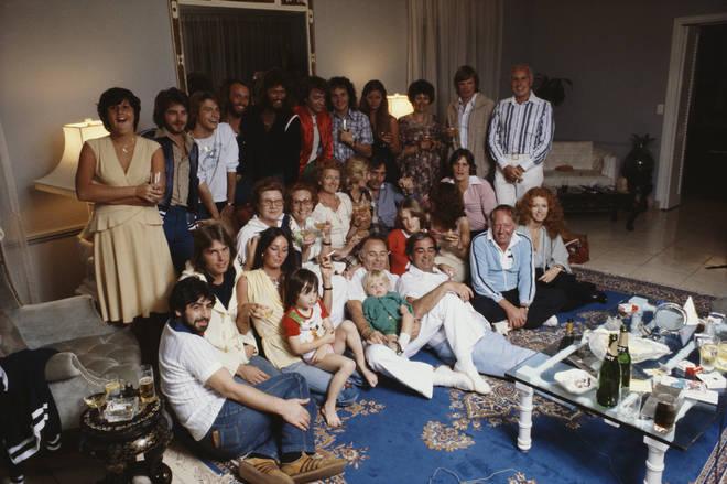 The Gibb family in 1978