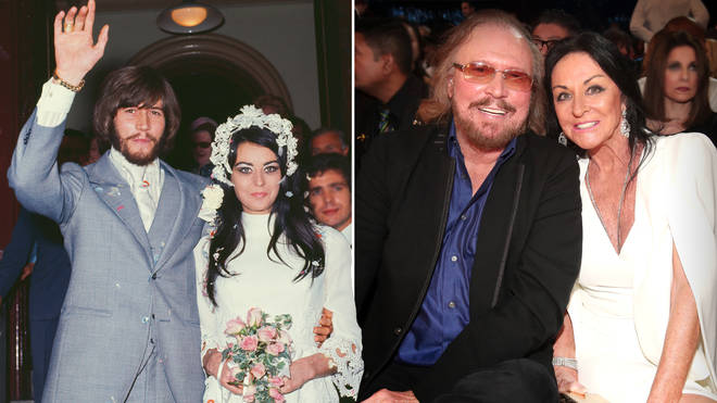 A timeline of Barry Gibb and Linda Gray's heartwarming 50-year relationship