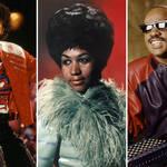 Michael Jackson / Aretha Franklin / Stevie Wonder