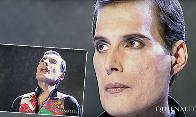 7e58d0243b2a Freddie Mercury appeared gaunt in his final music video 'These Are the Days  of Our