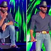 Watch Tim McGraw confront heckling fans after forgetting his song lyrics during a concert