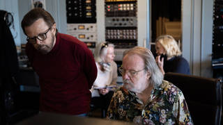 ABBA reunited in the studio before they reunite on stage. (Photo: Ludvig Andersson)