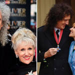 Brian May and Anita Dobson have been married since 2000.