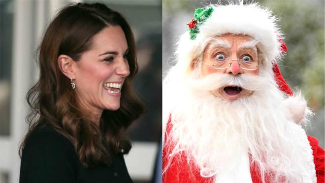 Kate and Santa