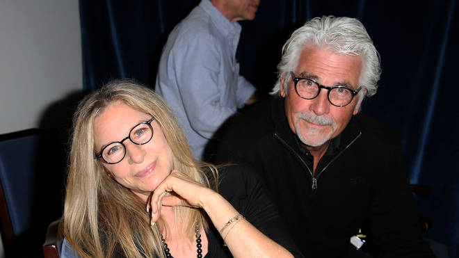 Barbra Streisand and James Brolin in 2014
