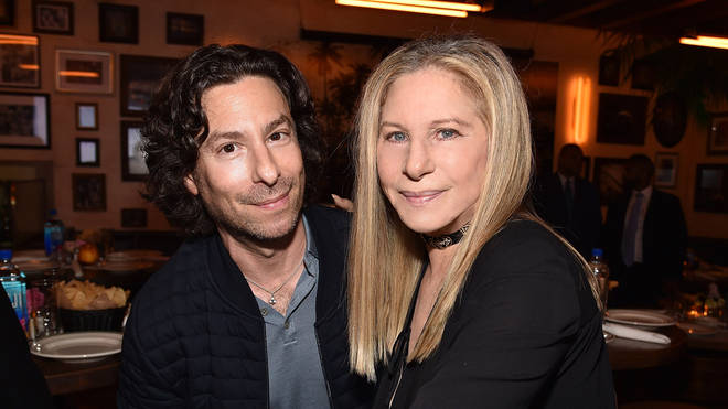 Barbra Streisand and Jason Gould in 2017
