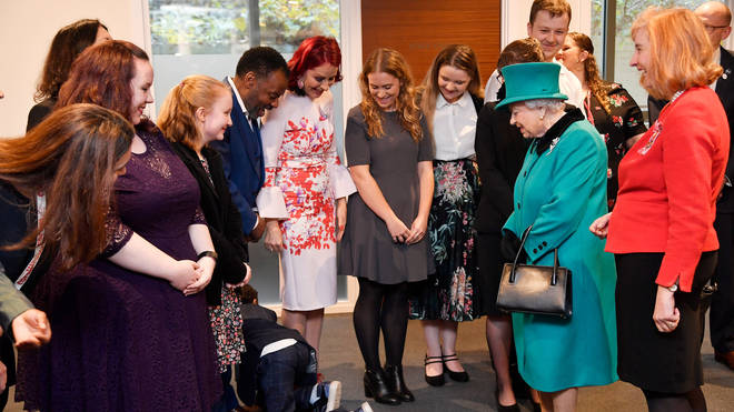 Nathan Grant couldn't stand the pressure of meeting The Queen