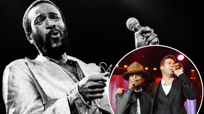 Marvin Gaye's family is suing Pharrell Williams and Robin Thicke