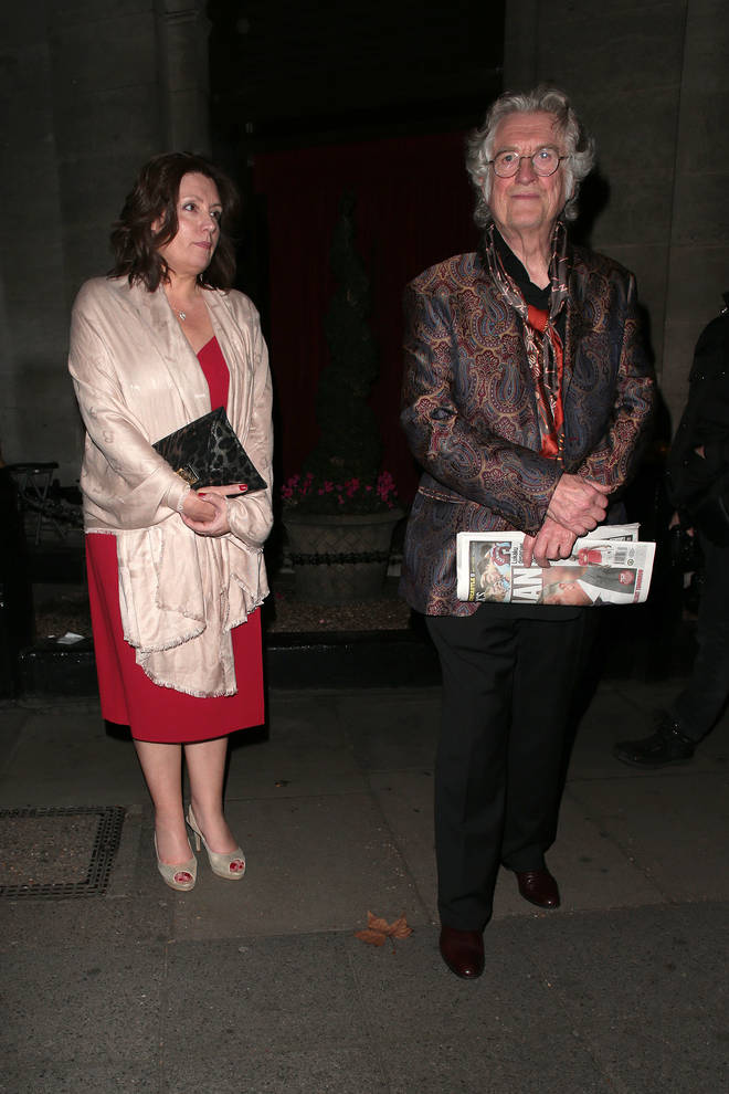 Noddy Holder and Suzan Price