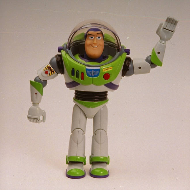 Buzz Lightyear action figure from 1995