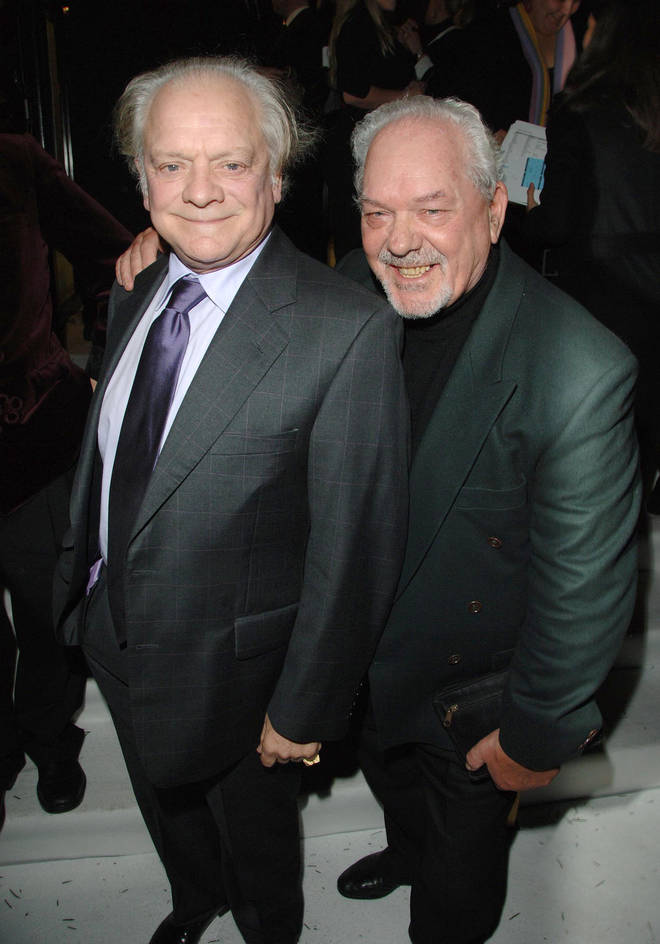 David Jason and Arthur White