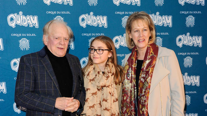 David Jason with daughter Sophie May and wife Gill in 2014