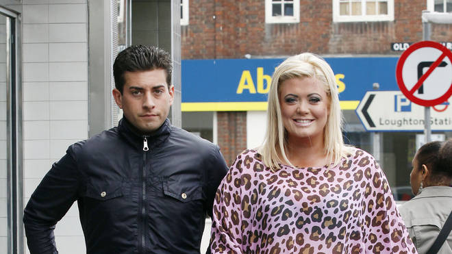 Gemma Collins and Arg in 2012