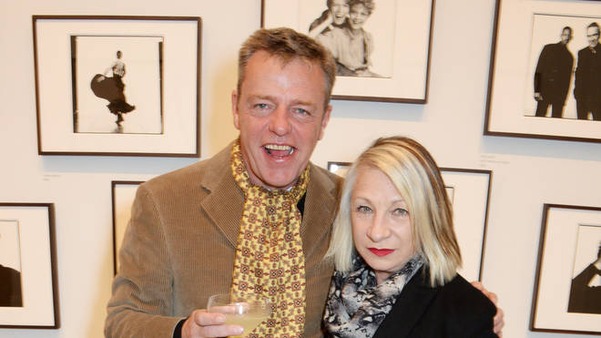 Suggs and Bette Bright in 2014