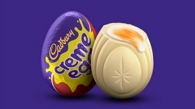 White Creme Eggs