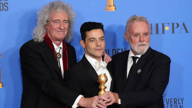 Rami Malek and Queen