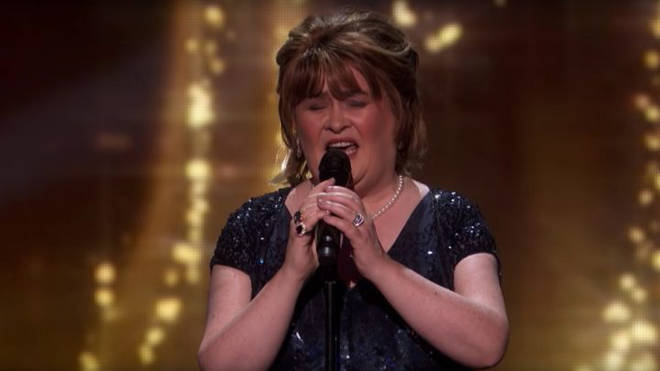 Susan Boyle on America's Got Talent