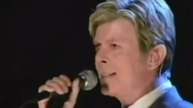 David Bowie's final public live performance