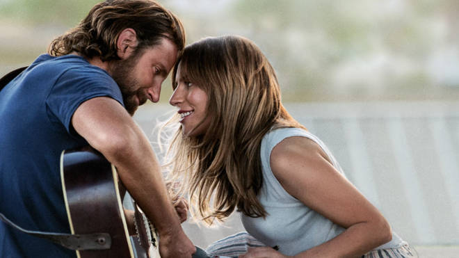 A Star Is Born starring Bradley Cooper and Lady Gaga