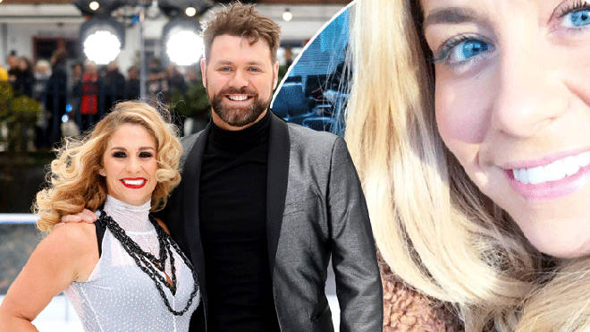Dancing on Ice professional Alex Murphy is partnered with Brian McFadden