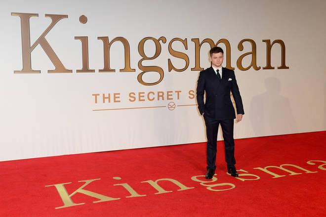 Taron Egerton in Kingsman