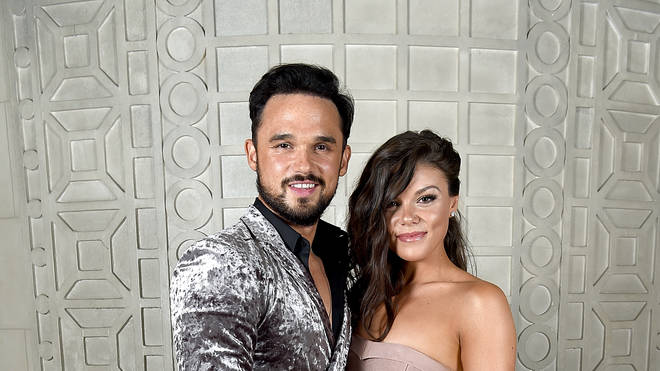Gareth Gates and Faye Brooks