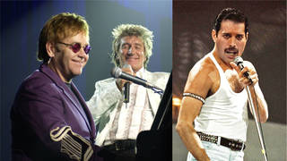 Elton, Rod and Freddie