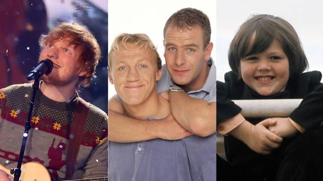 Ed Sheeran / Robson & Jerome / Jimmy Osmond