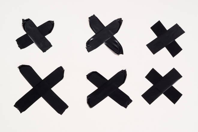 How do you write an X?