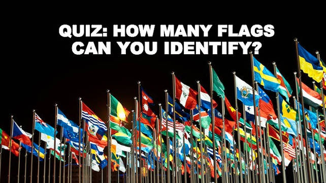 QUIZ: Can you identify these countries' flags?