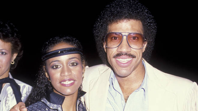 Lionel Richie and first wife Brenda Harvey in 1984