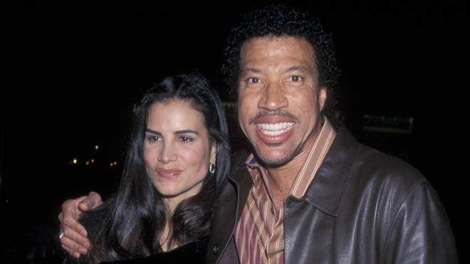 Lionel Richie and second wife Diane Alexander in 2001