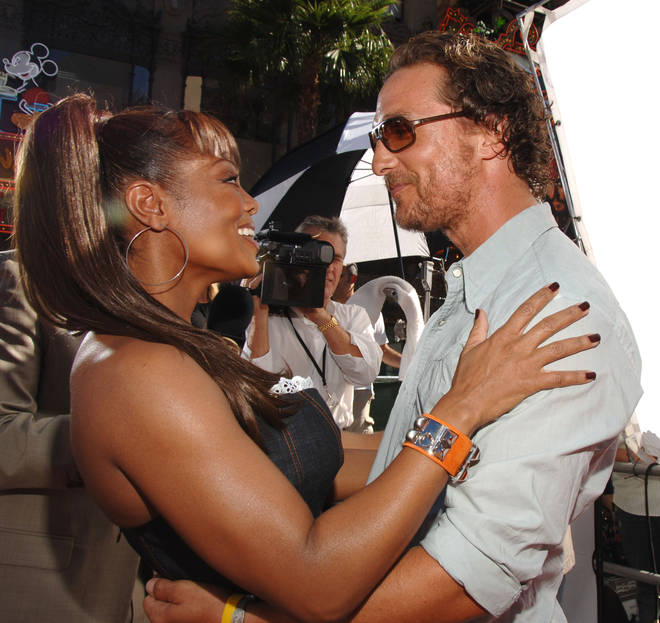 Janet Jackson and Matthew McConaughey in 2006