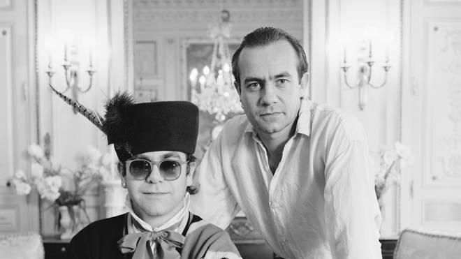 Elton John And Bernie Taupin in 1985